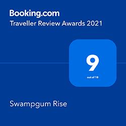 Booking dot com award 2021